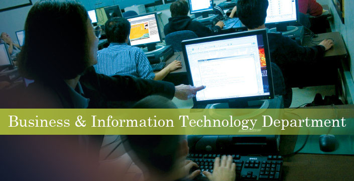 Business and Information Technology Department