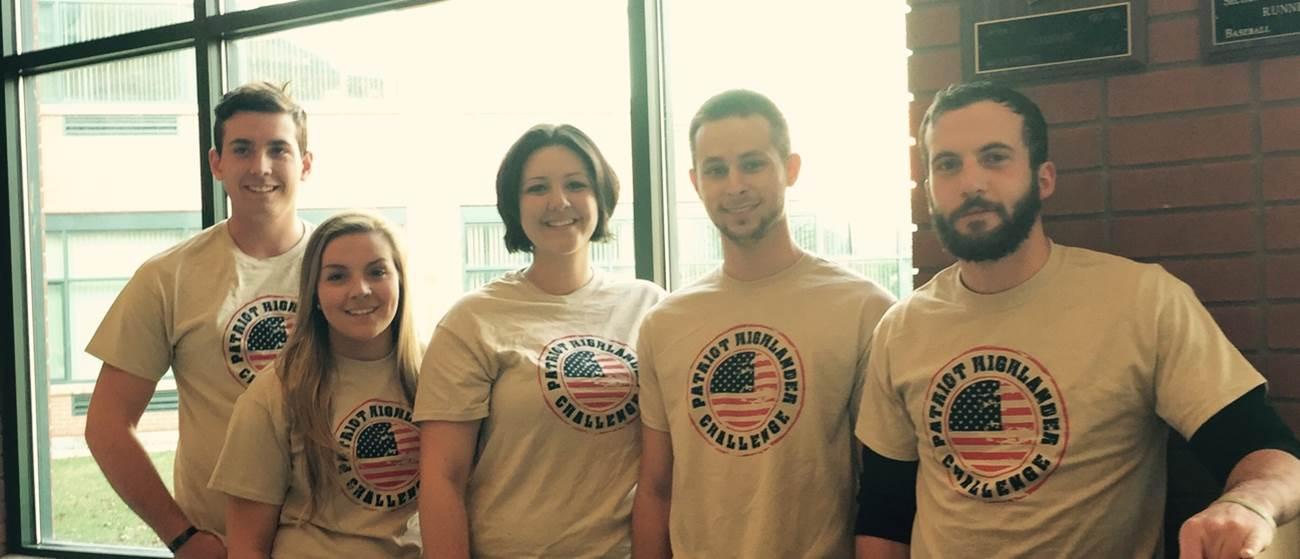 Student Veteran's Association Patriot Highlander Team