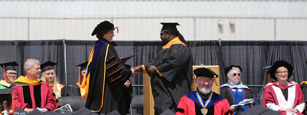 getting the degree