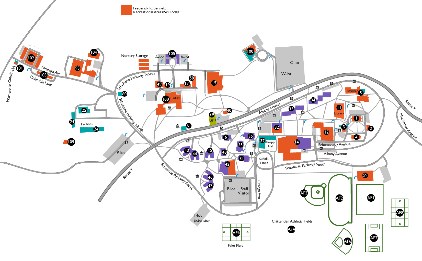 rockland community college campus map Map And Directions rockland community college campus map