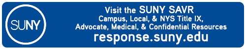 Visit SUNY SAVR Title IX Resources